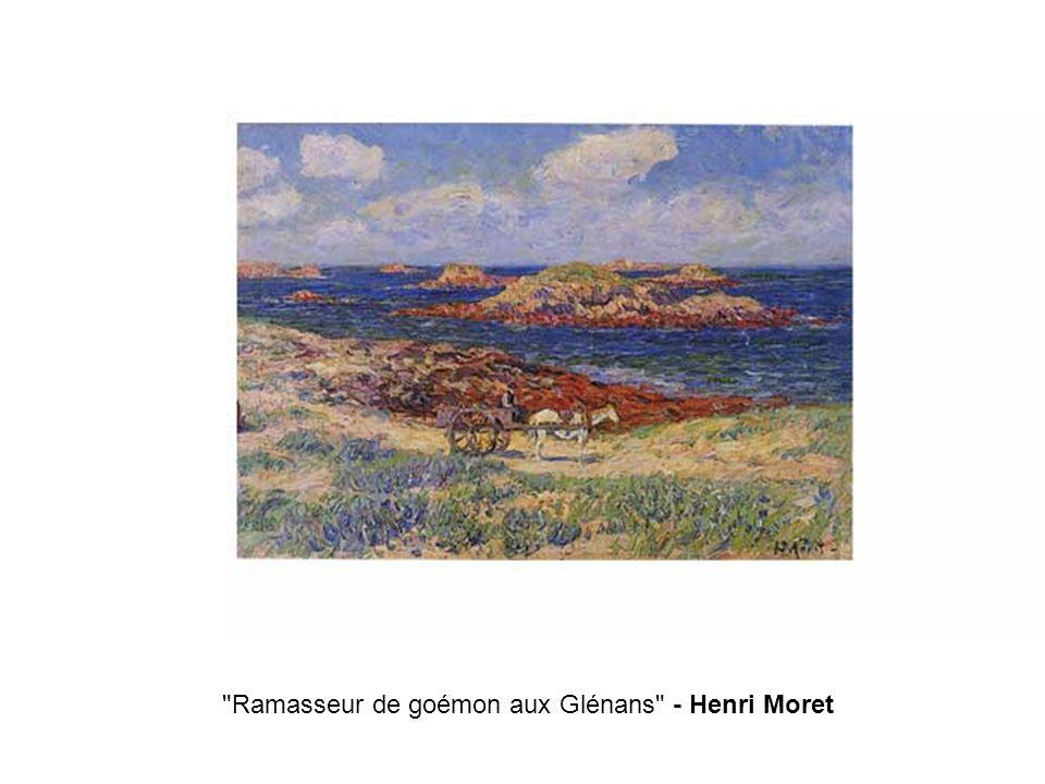 Ramasseur de goémon aux Glénans - Henri Moret