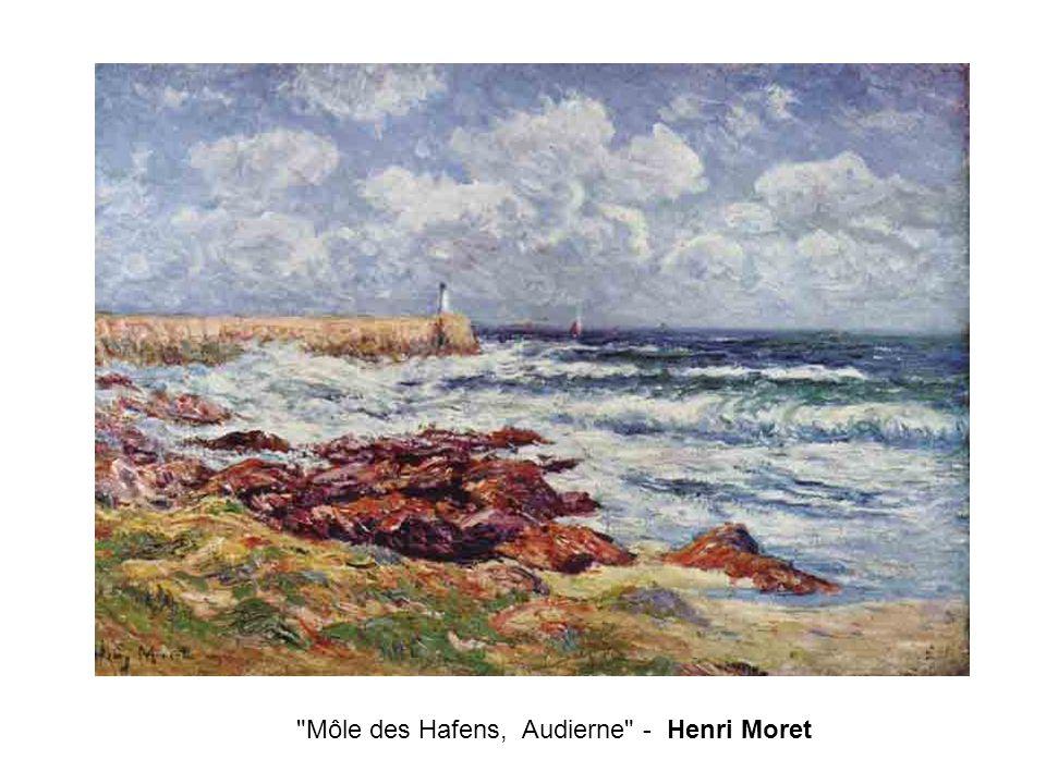 Môle des Hafens, Audierne - Henri Moret