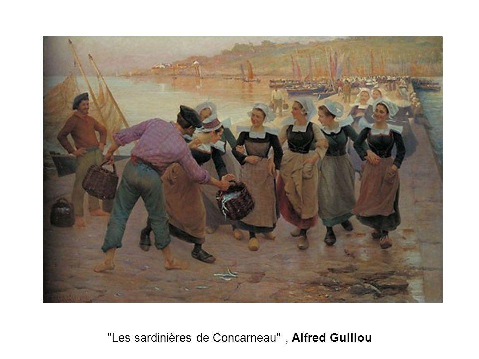 Les sardinières de Concarneau , Alfred Guillou