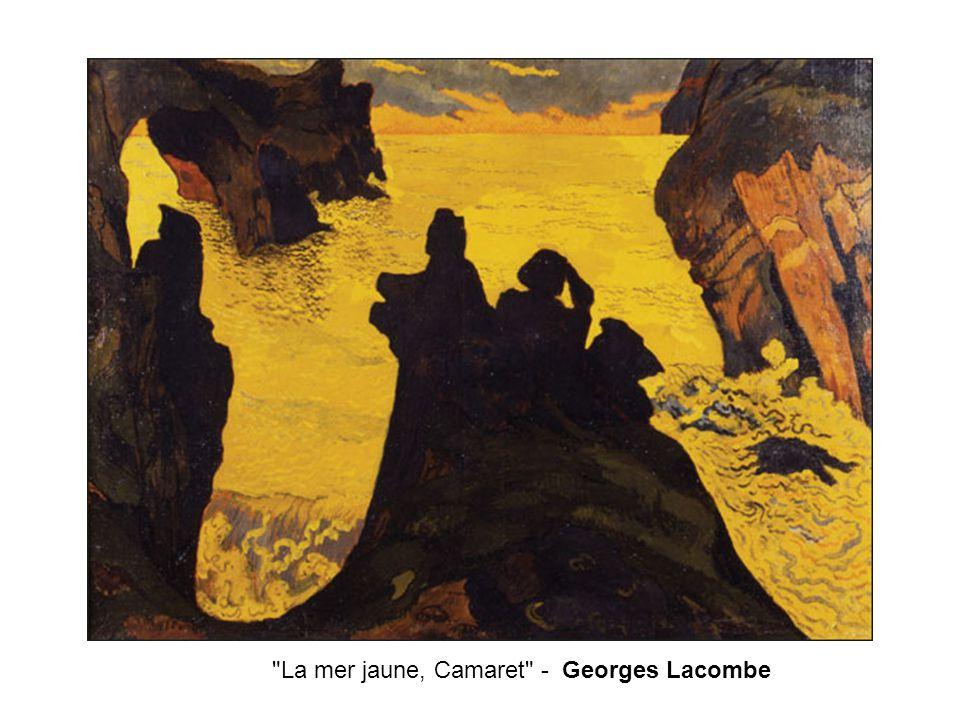La mer jaune, Camaret - Georges Lacombe