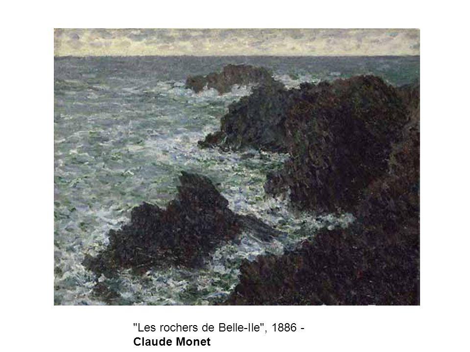 Les rochers de Belle-Ile , 1886 - Claude Monet