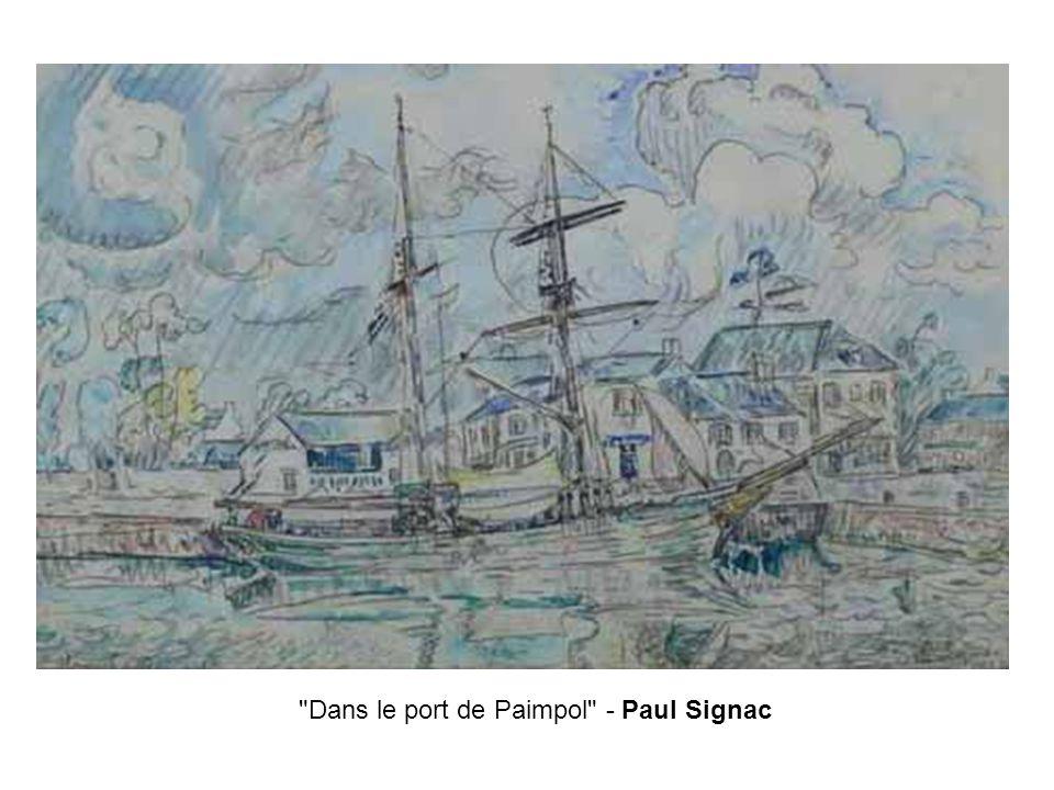 Dans le port de Paimpol - Paul Signac