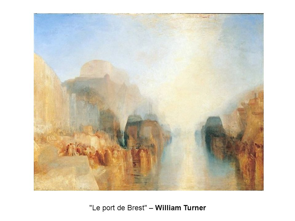 Le port de Brest – William Turner