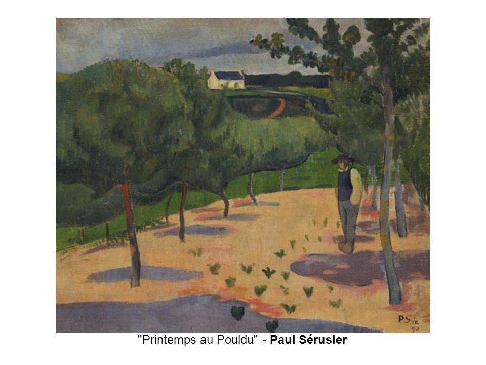 Printemps au Pouldu - Paul Sérusier