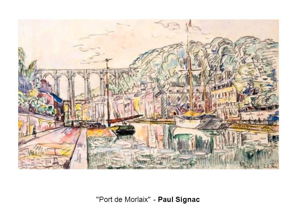 Port de Morlaix - Paul Signac