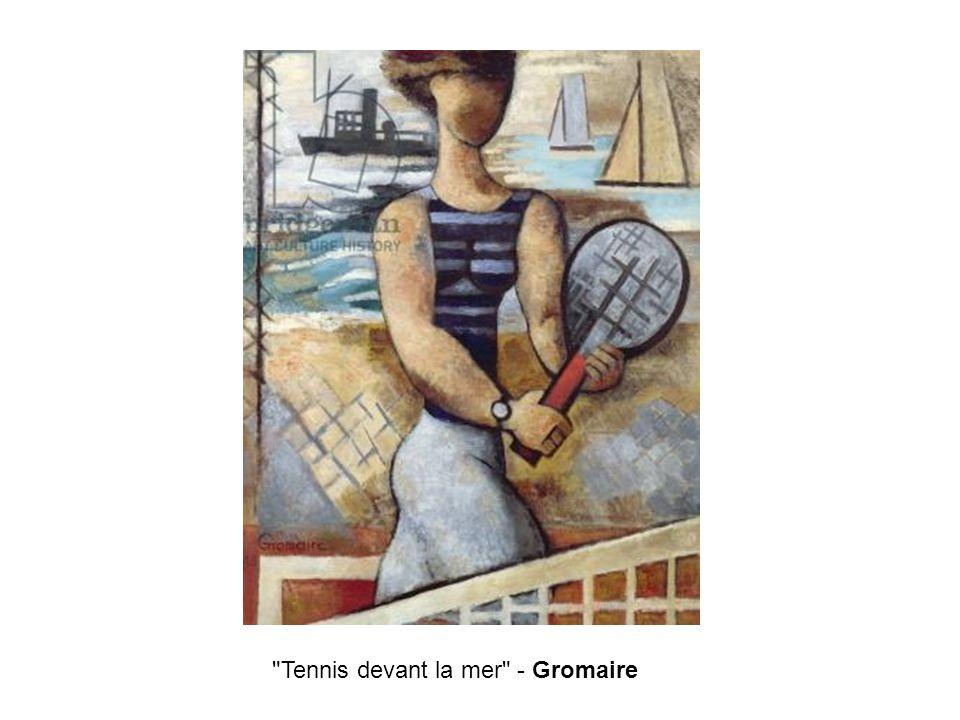 Tennis devant la mer - Gromaire