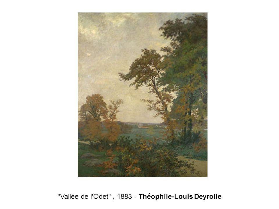 Vallée de l Odet , 1883 - Théophile-Louis Deyrolle