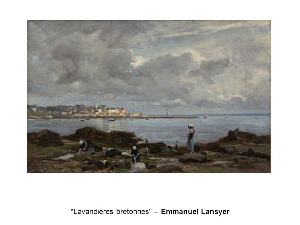 Lavandières bretonnes - Emmanuel Lansyer