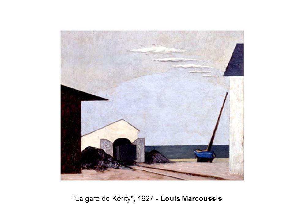 La gare de Kérity , 1927 - Louis Marcoussis