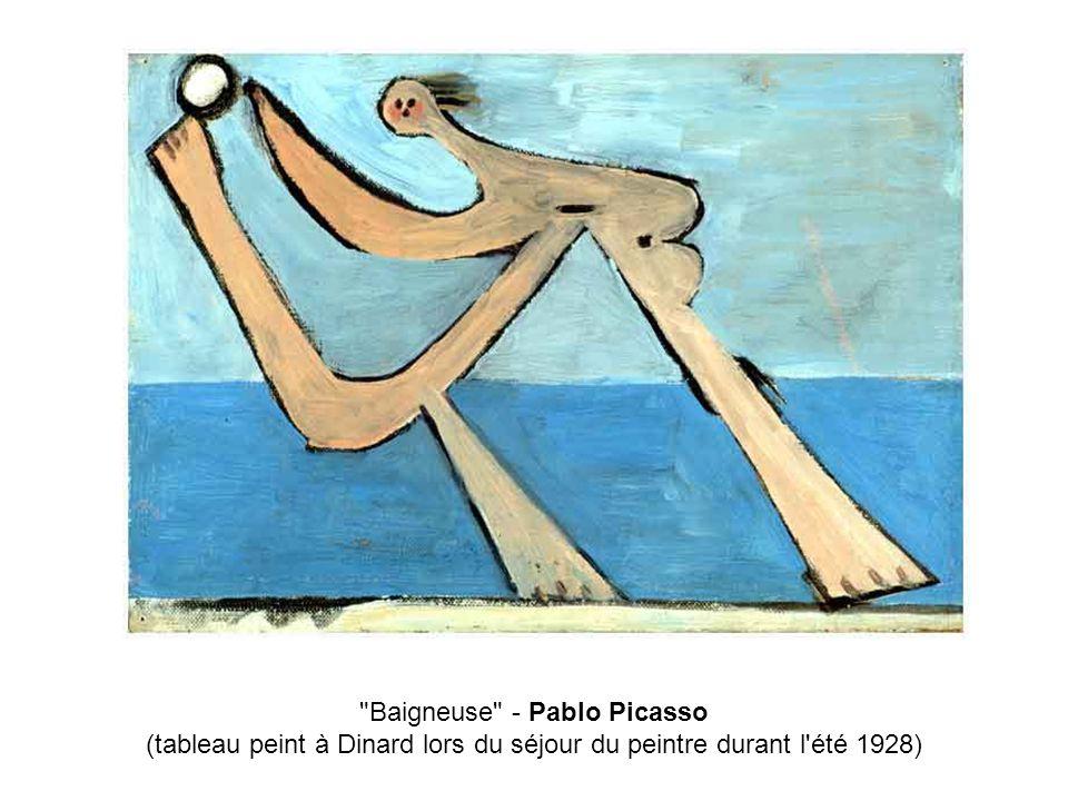 Baigneuse - Pablo Picasso