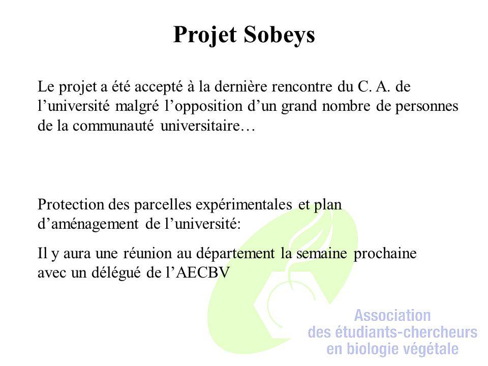 Projet Sobeys