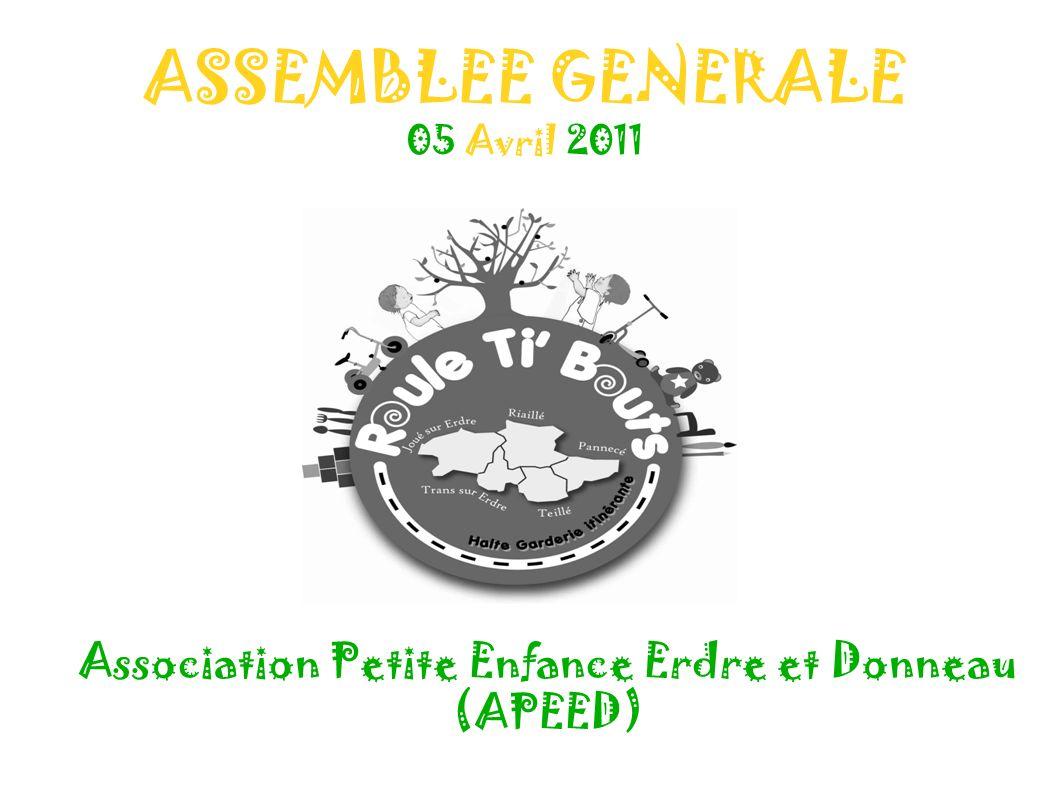 ASSEMBLEE GENERALE 05 Avril 2011