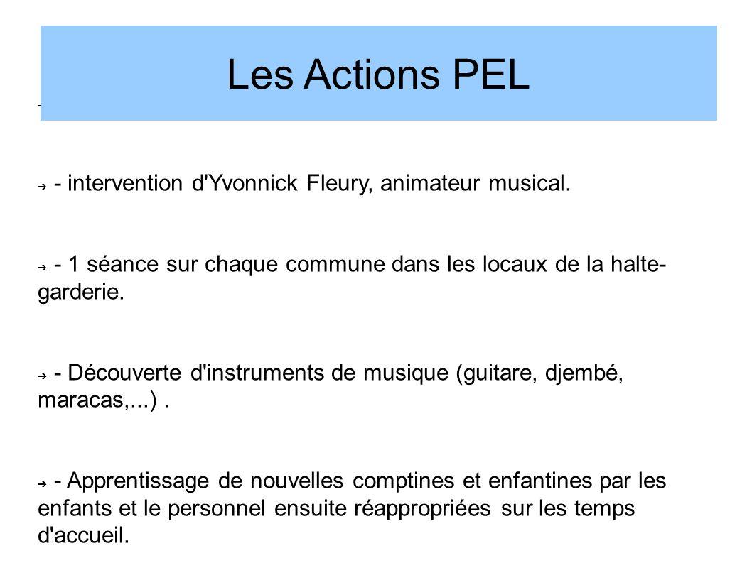 Les Actions PEL Eveil musical à Roule ti bouts :