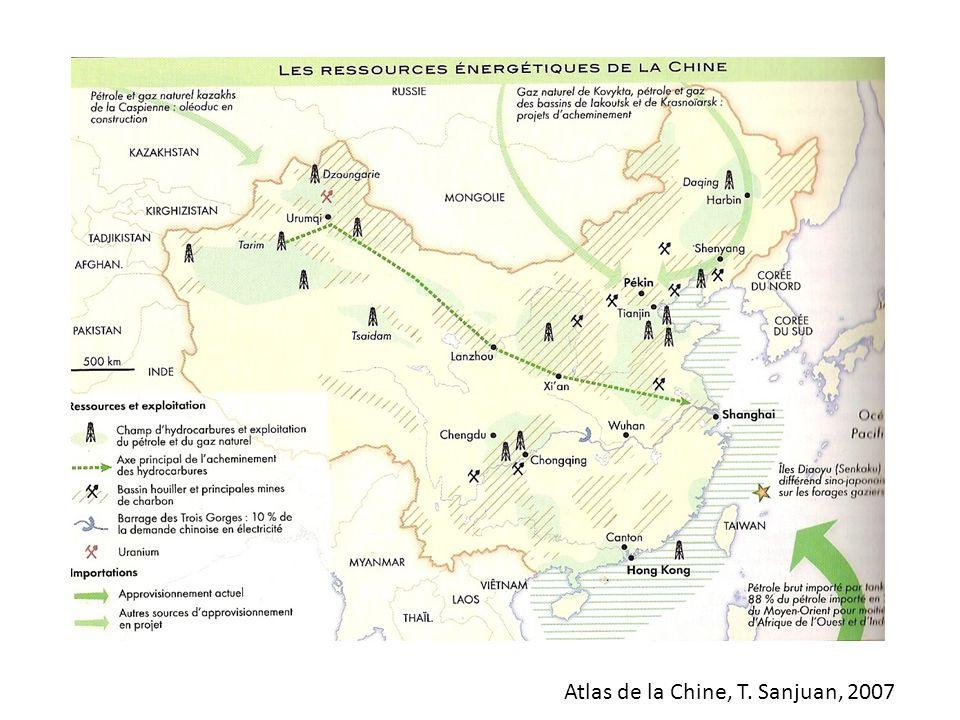 Atlas de la Chine, T. Sanjuan, 2007