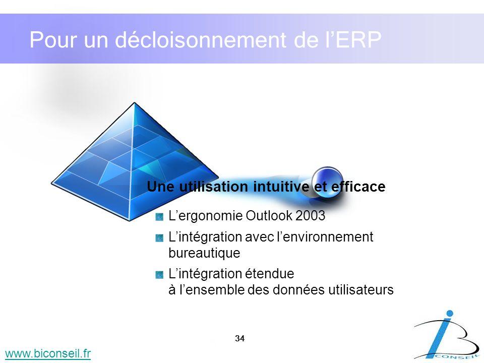 Pour un décloisonnement de l'ERP