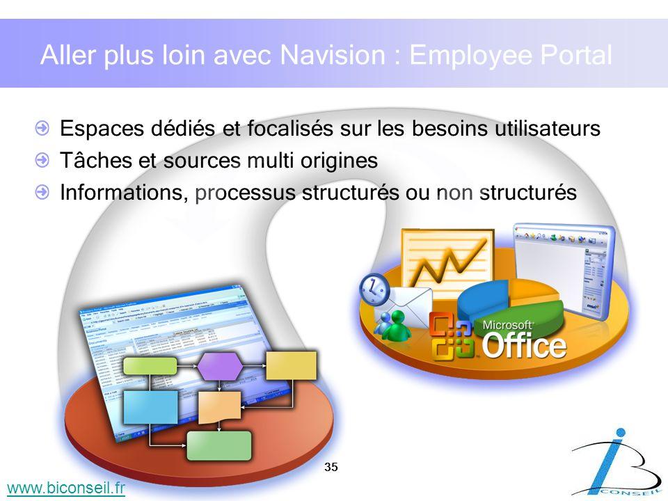 Aller plus loin avec Navision : Employee Portal
