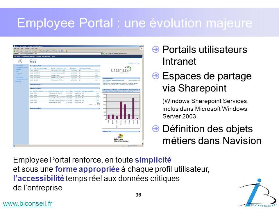 Employee Portal : une évolution majeure