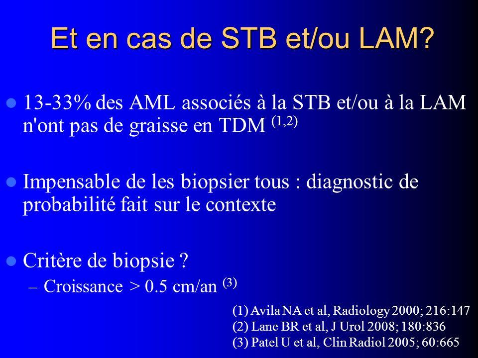 Et en cas de STB et/ou LAM