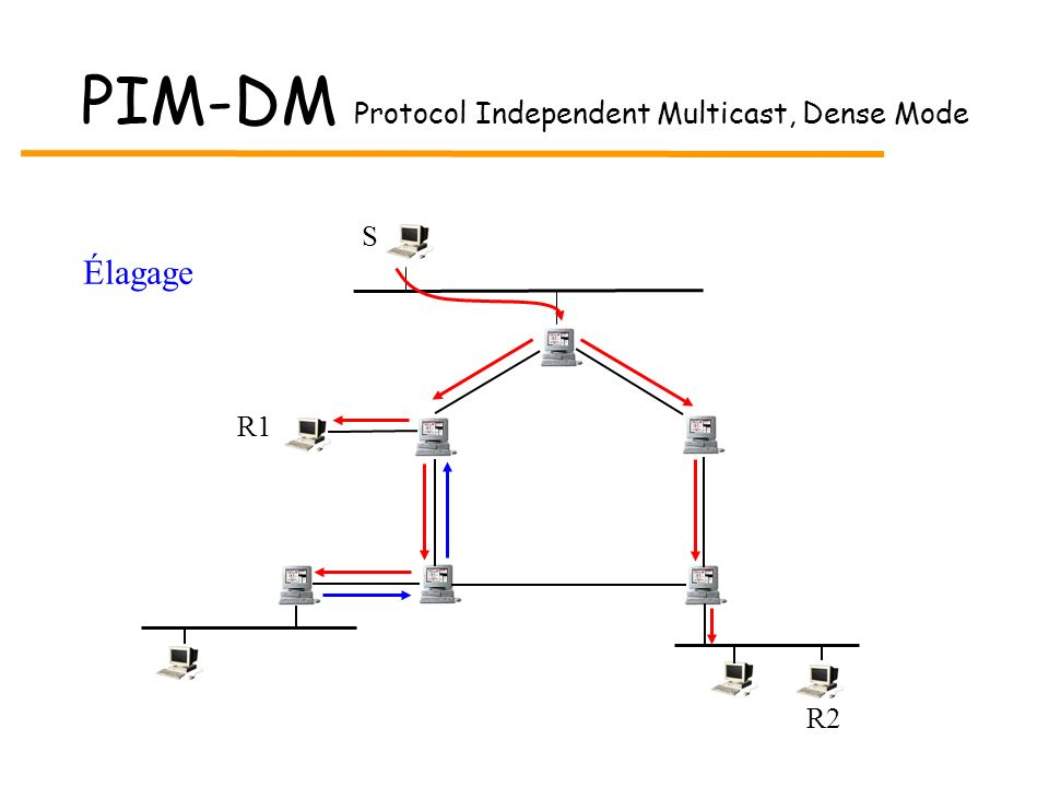 PIM-DM Protocol Independent Multicast, Dense Mode