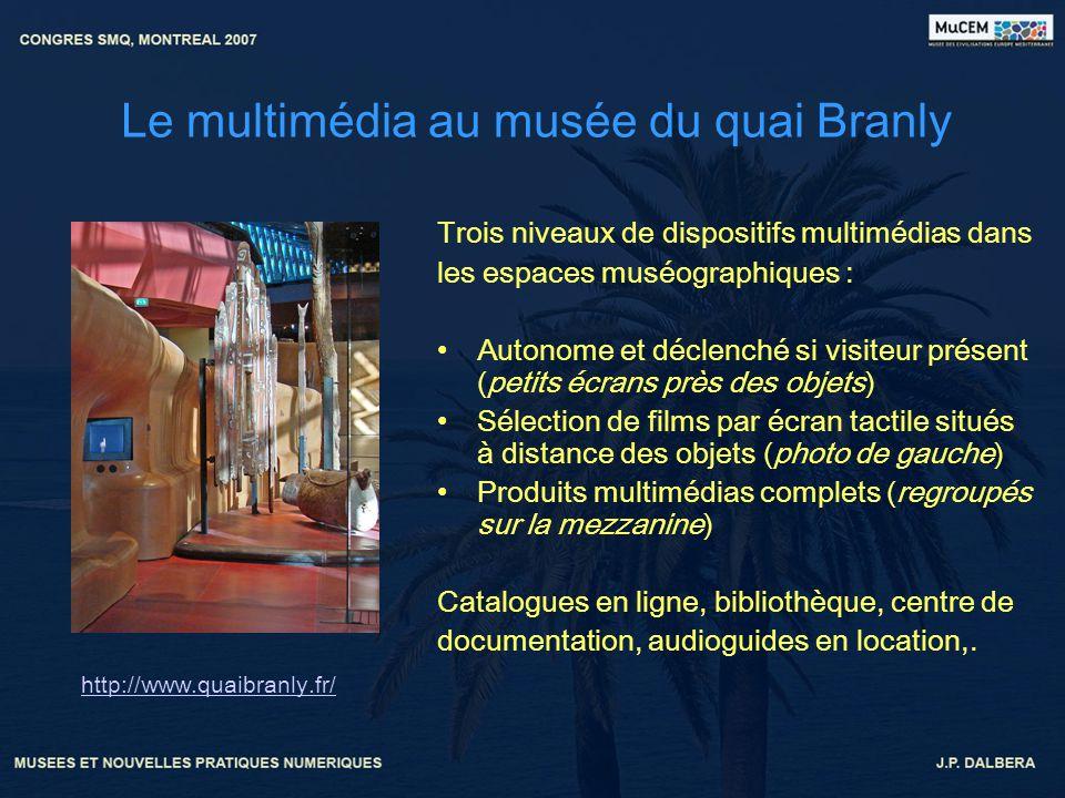 Le multimédia au musée du quai Branly