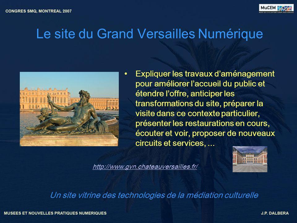 Le site du Grand Versailles Numérique