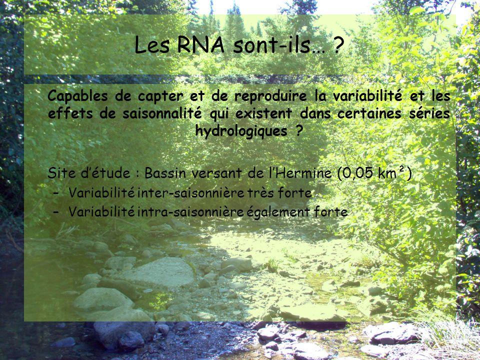 Les RNA sont-ils…