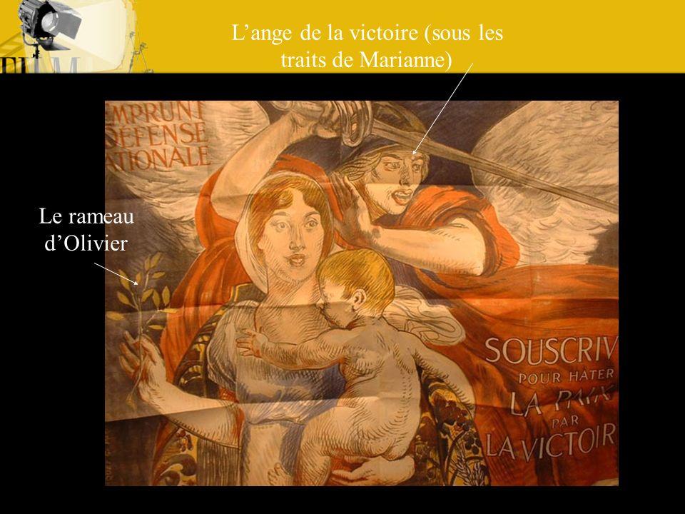 L'ange de la victoire (sous les traits de Marianne)