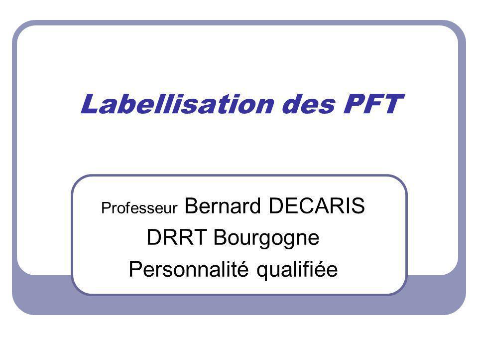 Professeur Bernard DECARIS DRRT Bourgogne Personnalité qualifiée