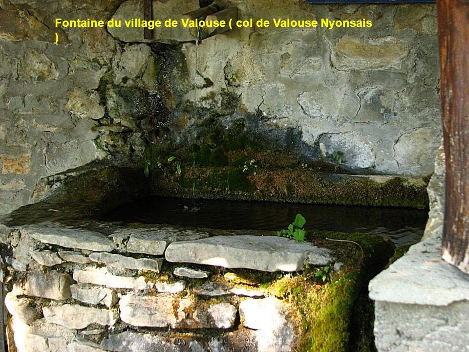 Fontaine du village de Valouse ( col de Valouse Nyonsais )