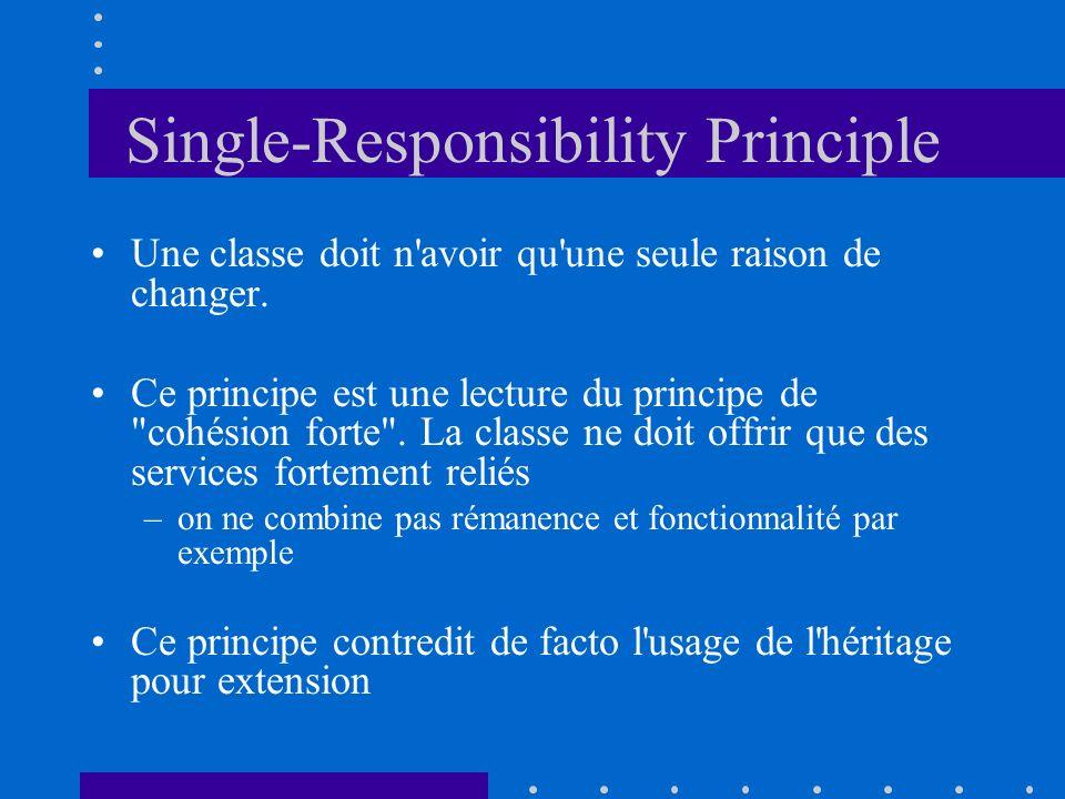 Single-Responsibility Principle