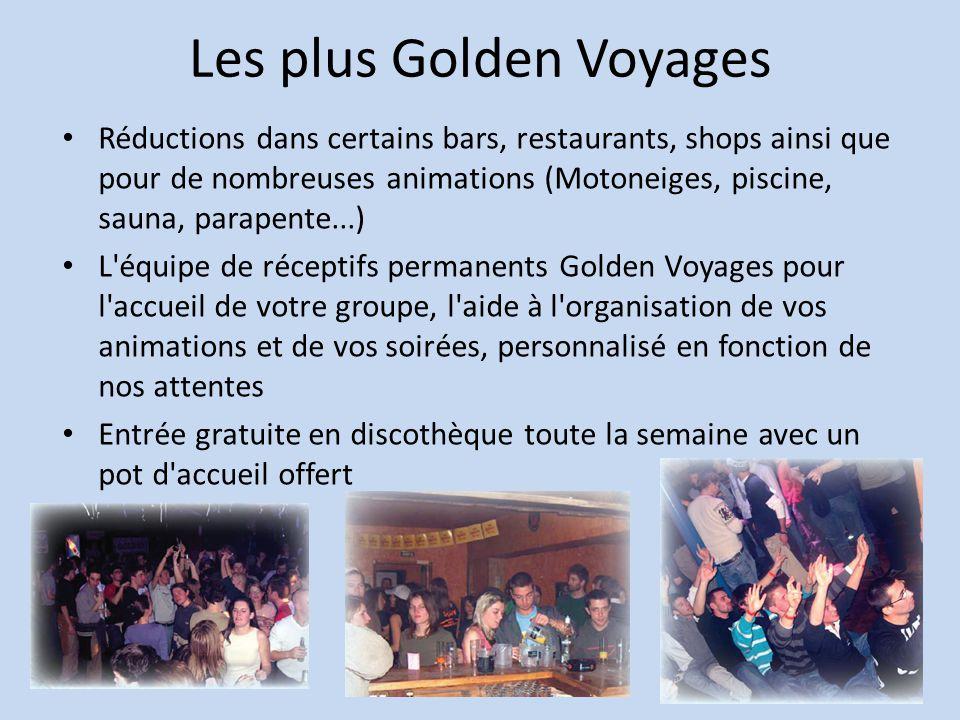 Les plus Golden Voyages