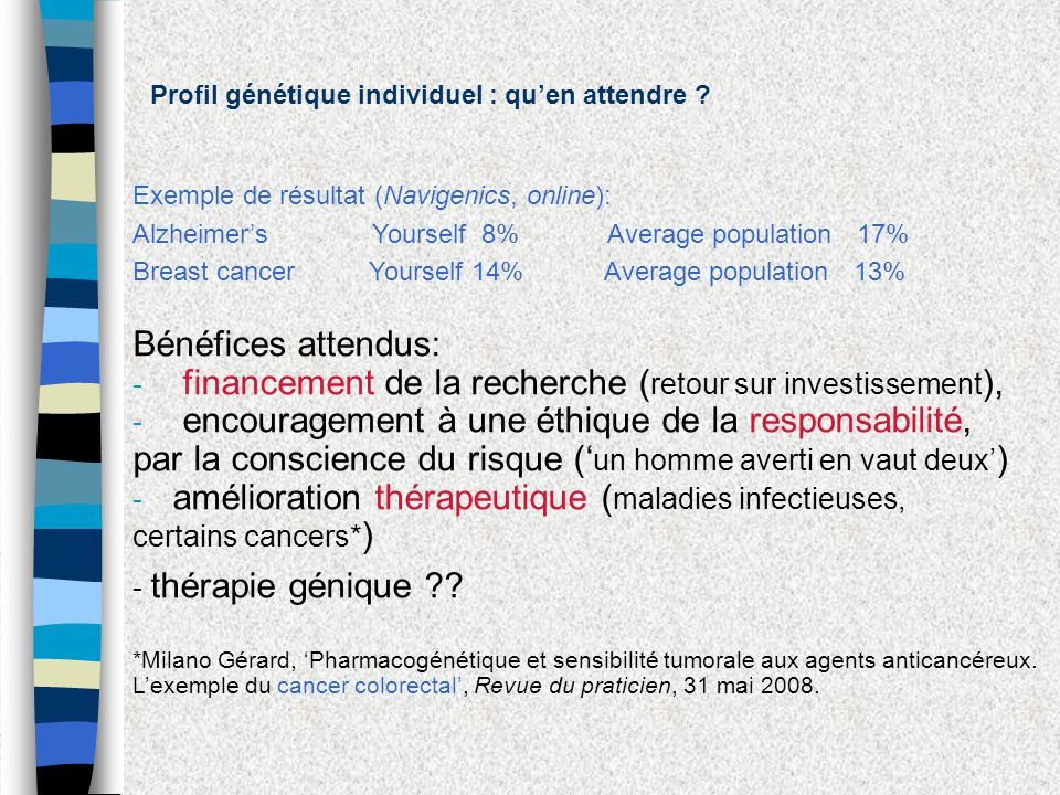 financement de la recherche (retour sur investissement),
