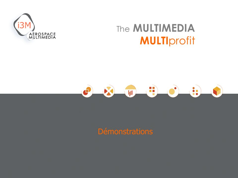 Démonstrations The MULTIMEDIA MULTIprofit