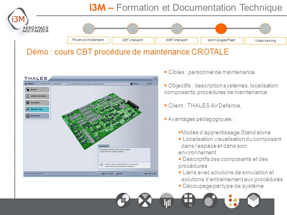 i3M – Formation et Documentation Technique