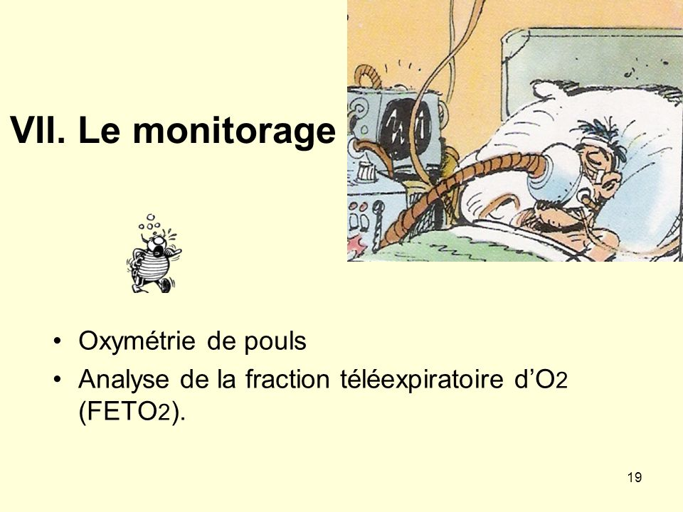 VII. Le monitorage Oxymétrie de pouls