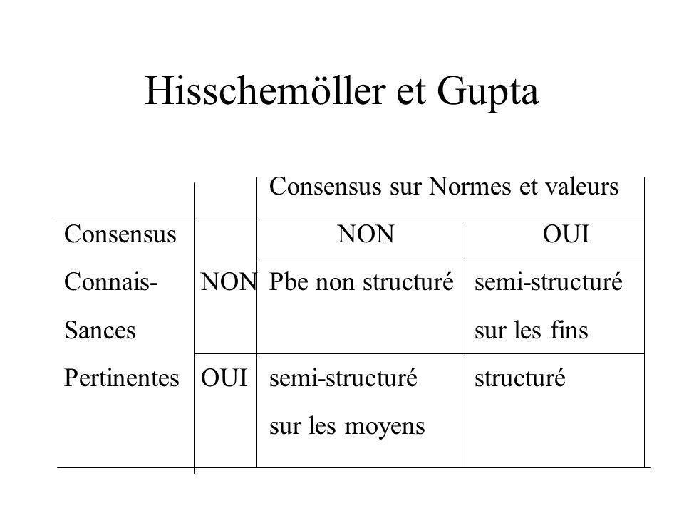 Hisschemöller et Gupta