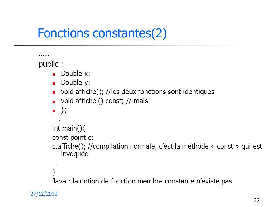 Fonctions constantes(2)
