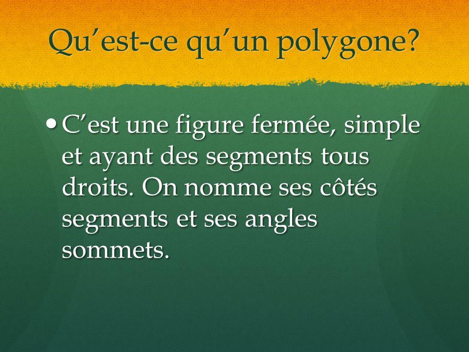 Qu'est-ce qu'un polygone