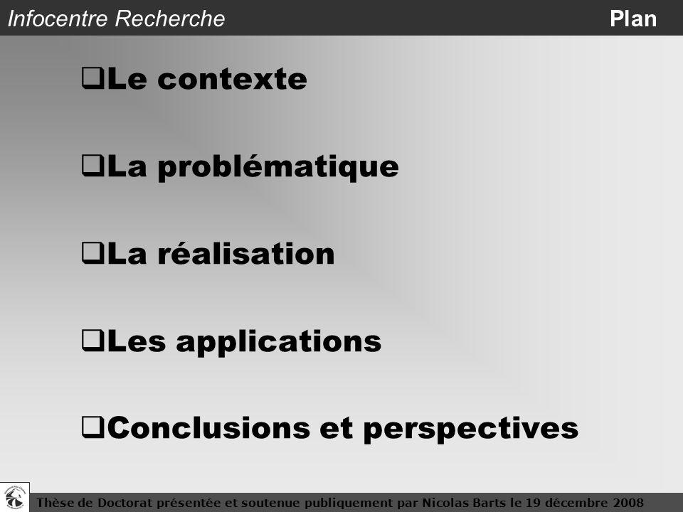 Infocentre Recherche Plan