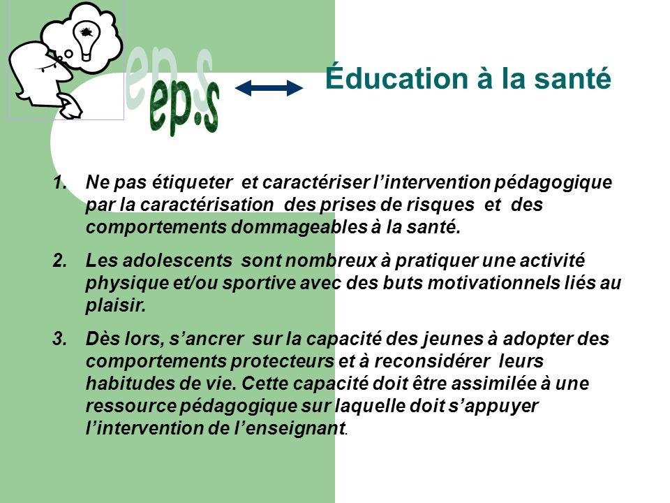 ep.s Éducation à la santé