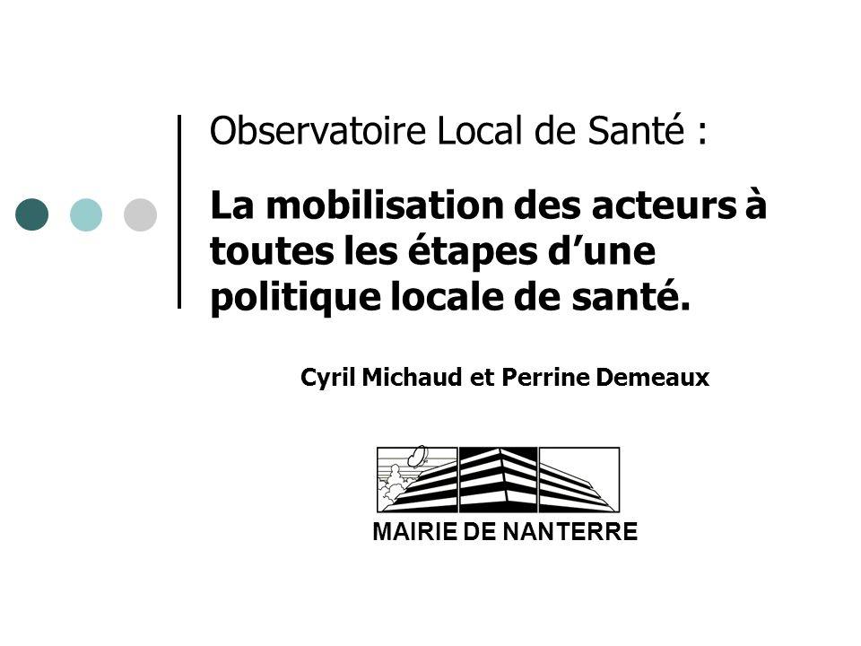 Cyril Michaud et Perrine Demeaux MAIRIE DE NANTERRE