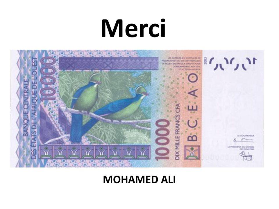 Merci Affaire à suivre!!!!!! MOHAMED ALI