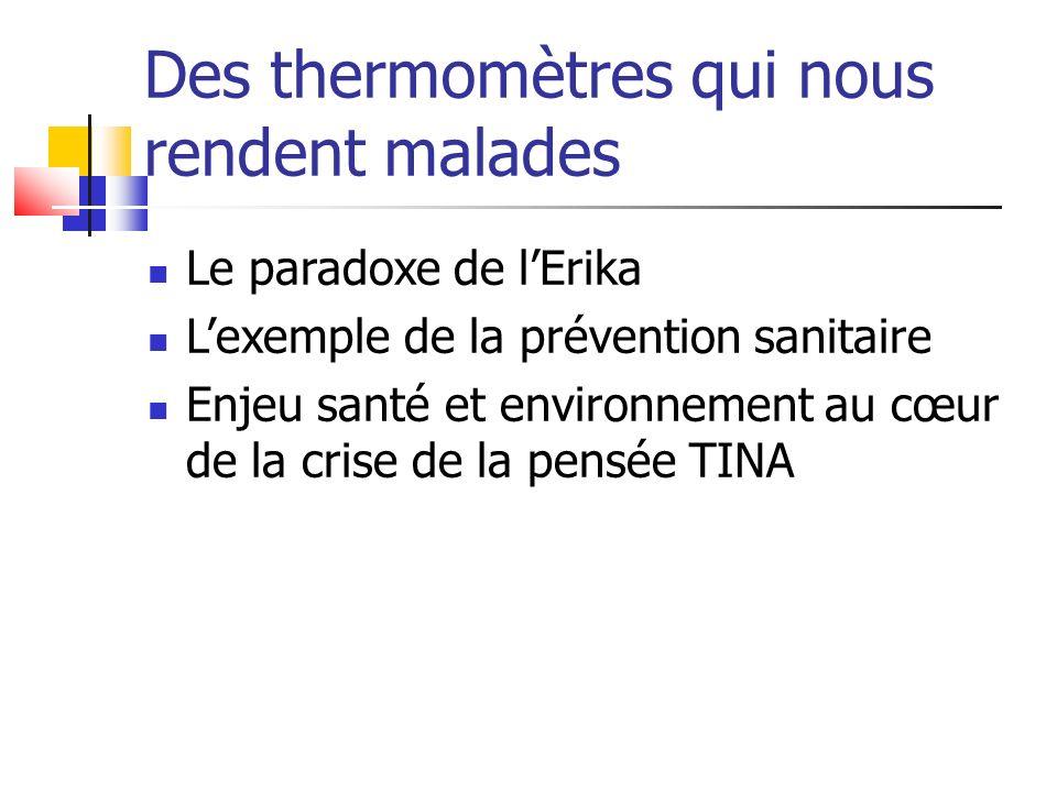 Des thermomètres qui nous rendent malades