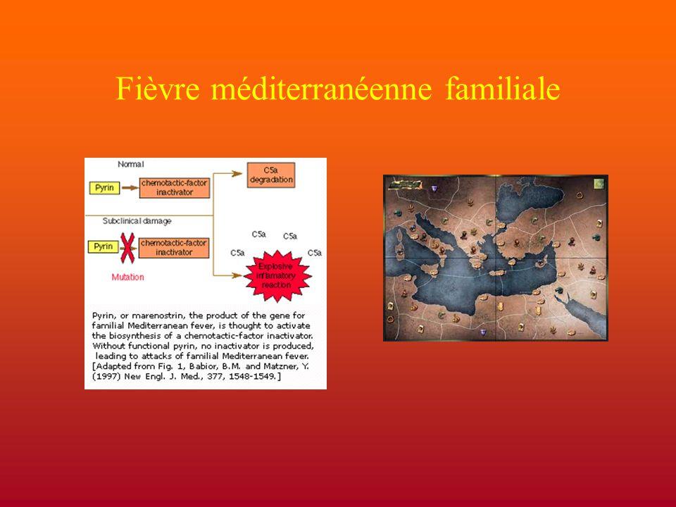 Fièvre méditerranéenne familiale
