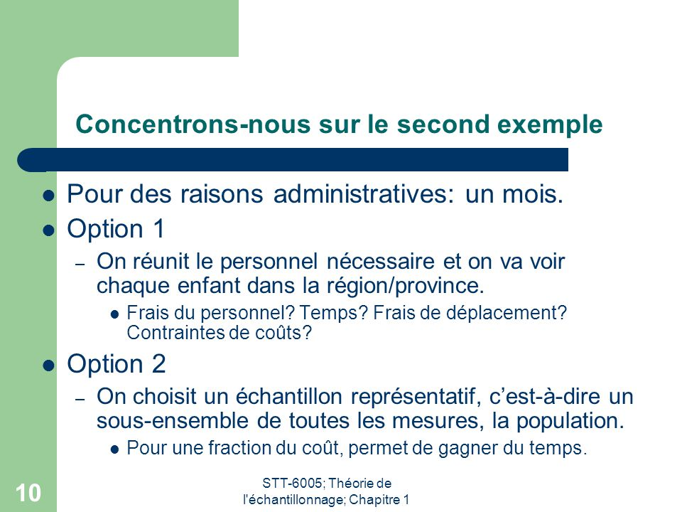 Concentrons-nous sur le second exemple