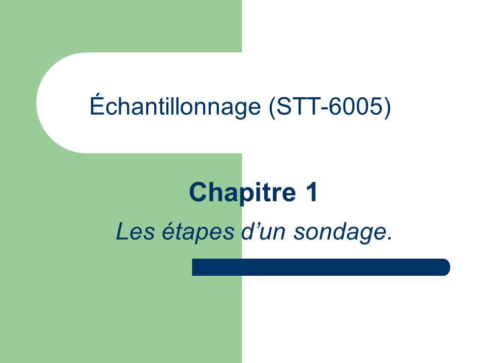 Échantillonnage (STT-6005)