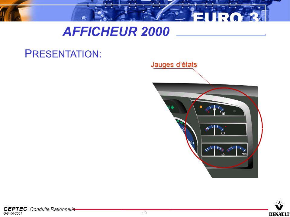 AFFICHEUR 2000 PRESENTATION: Jauges d'états