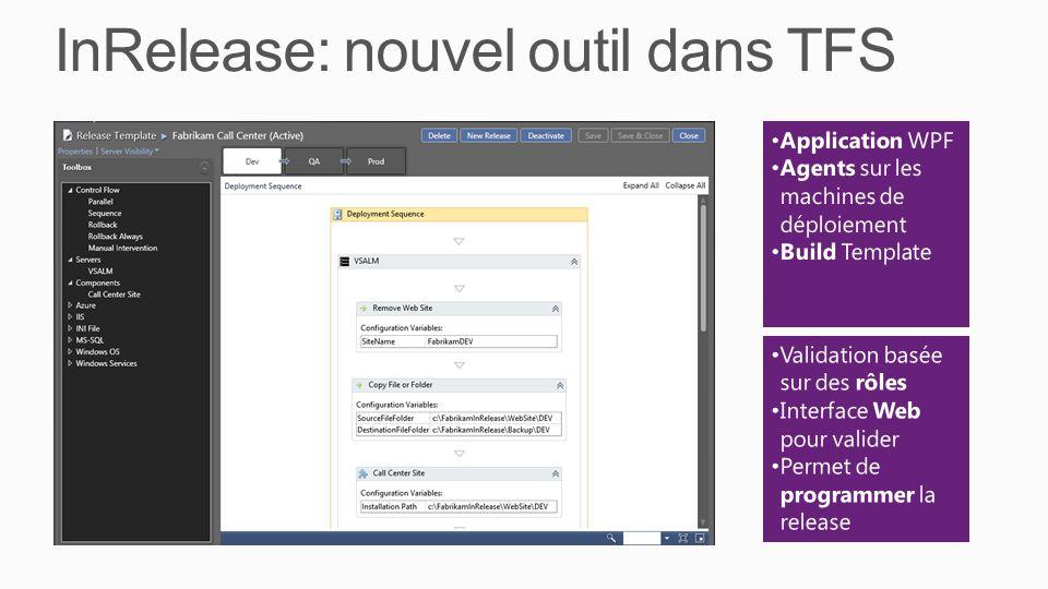 InRelease: nouvel outil dans TFS