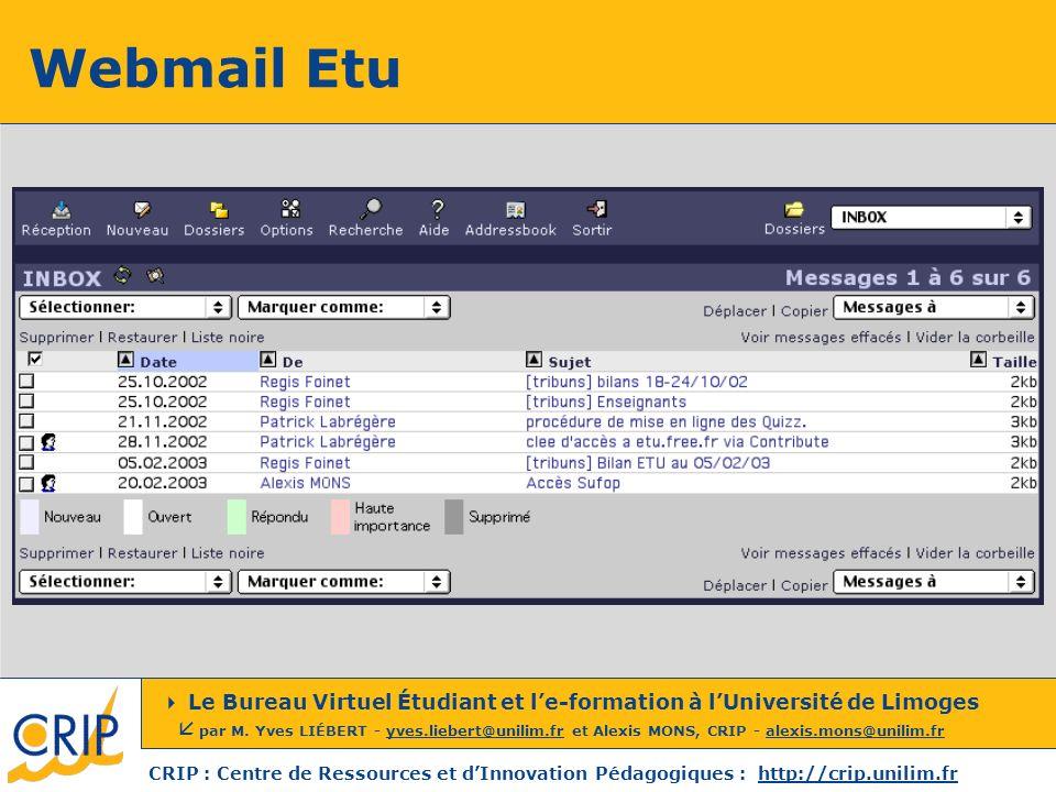 Webmail Etu