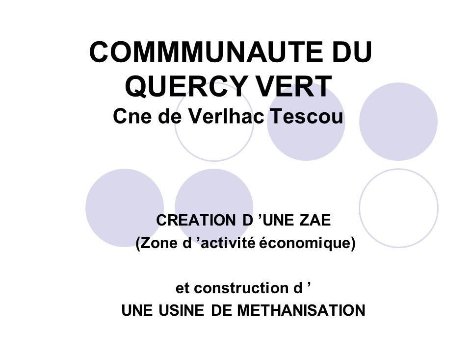 COMMMUNAUTE DU QUERCY VERT Cne de Verlhac Tescou